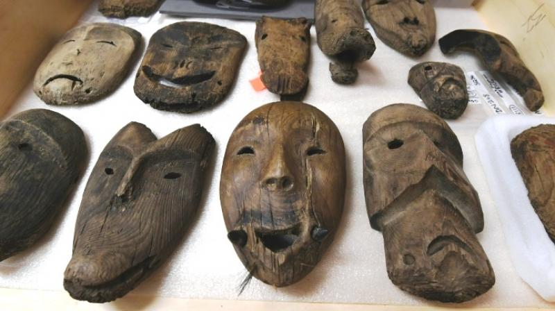 Ancient artefacts are now melting due to climate change. (Photo: AFP)