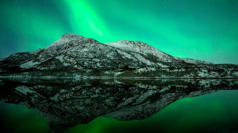 The weather is probably the most important success factor in the areas under the Northern Lights oval, where there are visible Northern Lights on up to 80% of all clear nights. (Photo: Alankar Chandra)