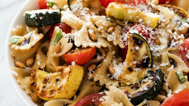 A combination of zucchini and summer squash makes for a more colorful dish, but either may be used exclusively if desired. (Photo: AP)