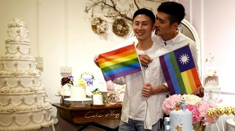Conservatives have tabled two other versions which noticeably avoid the word marriage, and offer something closer to same-sex unions with no adoption rights. (Photo: AFP)