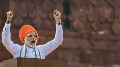 As leaders across nation unfurled the tricolour flag, Prime Minister Narendra Modi spoke about ensuring social justice for all and creatring an India that is progressing rapidly in his Independence Day speech. (Photos: AP/ PTI/ ANI)