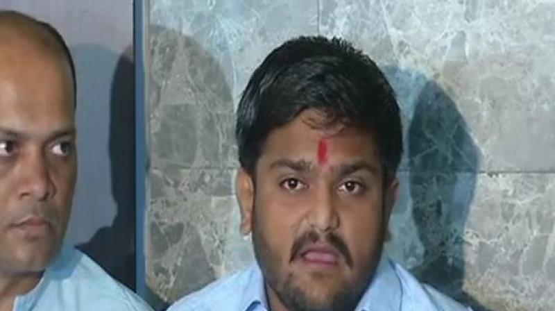 Hardik Patel announces Congress agrees to give reservation to Patidars