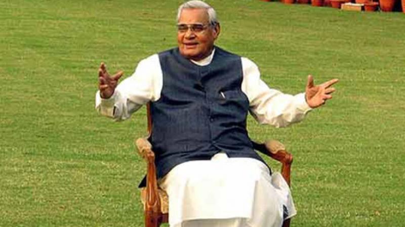 President, Prime Minister wish Vajpayee on his birthday