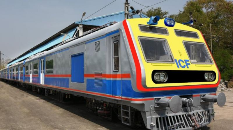The AC local trains will replace 12 existing non-air conditioned services- six services in up and six in down direction