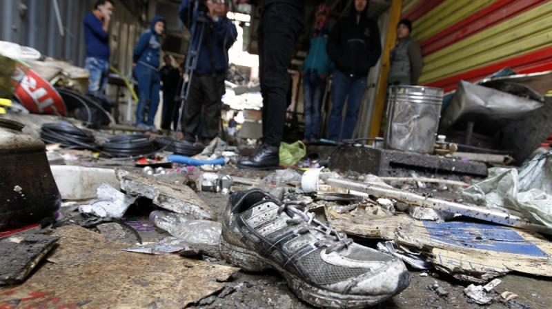 Deadly twin blasts rock central Baghdad