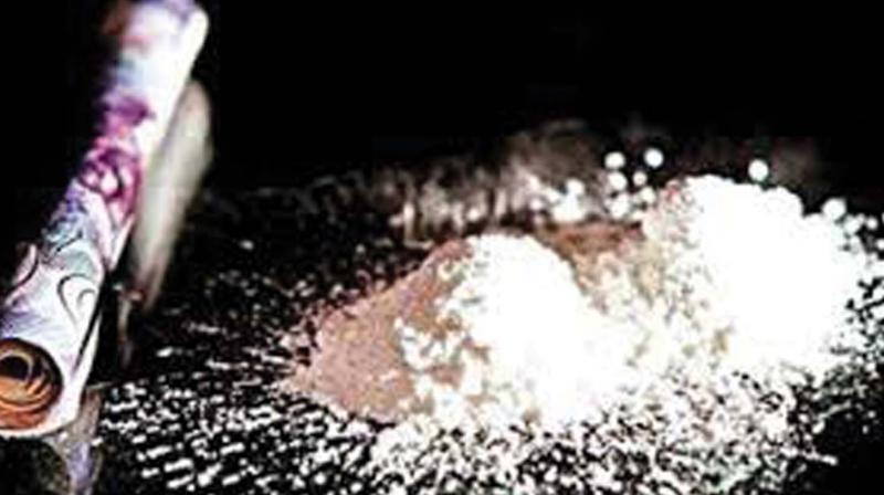The probe team is currently in Triplicane, near Chennai, with the accused Prasanth, who was arrested the other day in connection with the case, to collect more evidence on the suspected Malaysian-based drug racket.