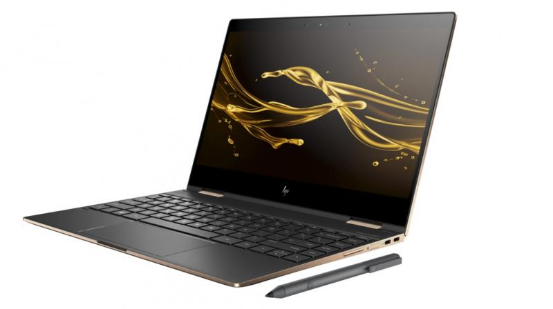 HP has also built in safety features that include a fingerprint reader located on the side for easy access.