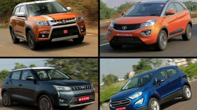 Demand for the Vitara Brezza went down by 16 per cent compared to March 2019.