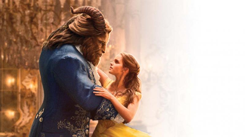 A still from the movie Beauty and the Beast