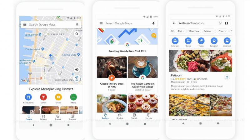 Google Maps app redesigned, gets new \'Explore\' and \'For You\' tabs