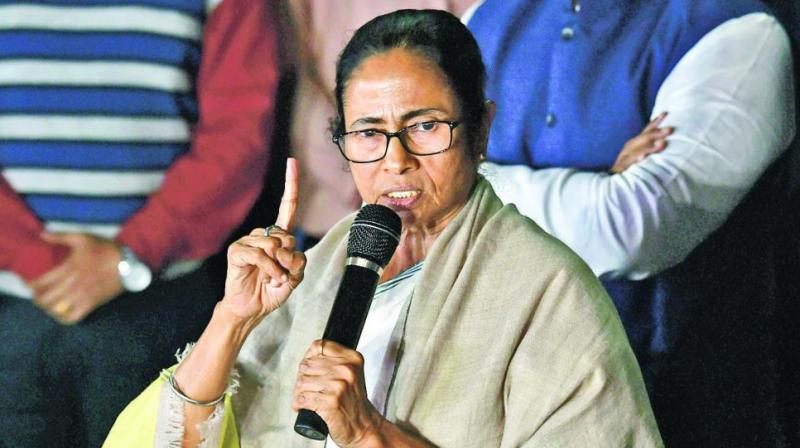 Mamata also alleged, 'The Election Commission of India had appointed two retired as special observers which is not accordance with the law'.  (Photo: PTI)