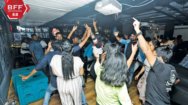 Pubs have been springing up with new themes and concepts and the best ones see a full house even on weekdays.