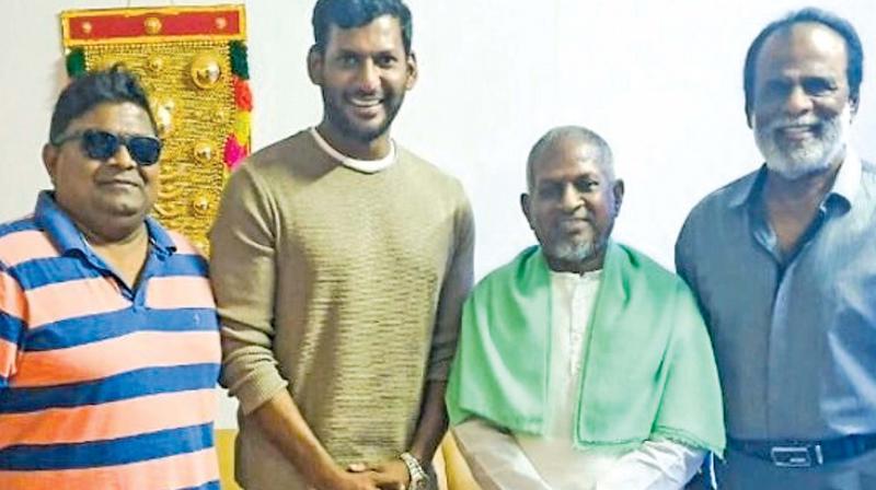 Mysshkin, Vishal, Ilayaraja and GK Reddy
