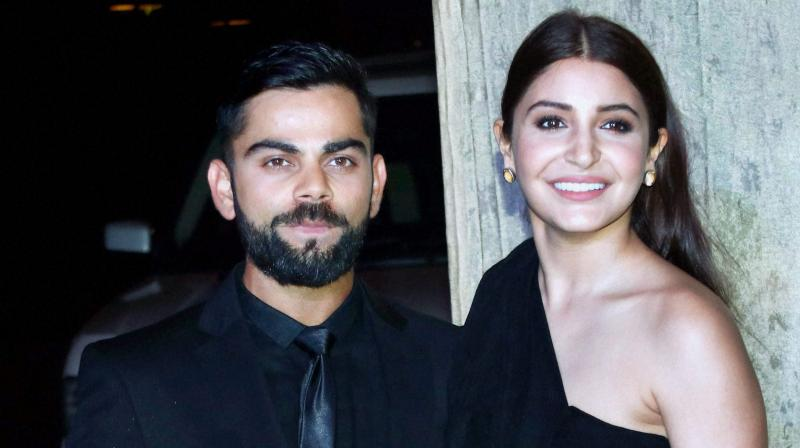Virat Kohli and Anushka Sharma look absolutely stunning at Zaheer Khan's reception