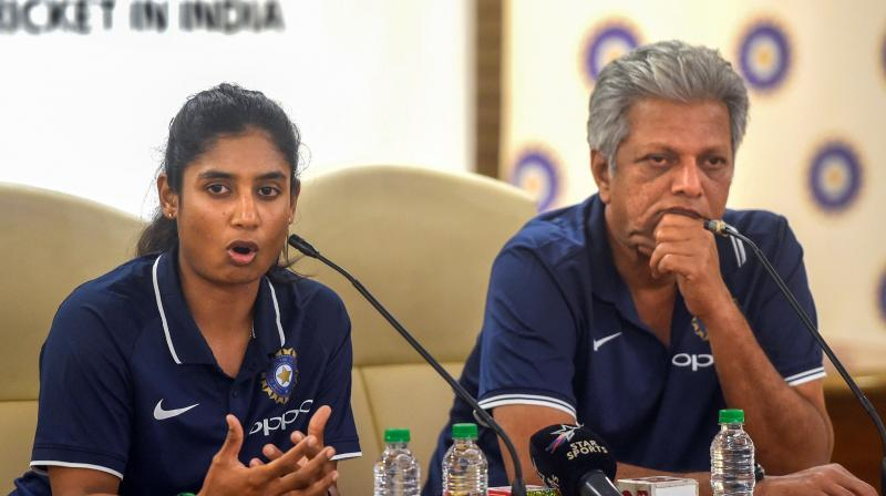 Former India women's cricket coach Ramesh Powar was left vindicated after Mithali Raj was left out of the team for the first two T20s against New Zealand, now coached by WV Raman. (Photo: PTI)