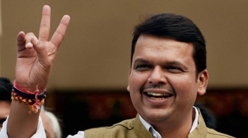 'Wherever we go, the yatra is being welcomed by people and getting a huge response. Looking at the people's support, we are sure that we will get an unprecedented victory in the Assembly polls,' Fadnavis said. (Photo: File)