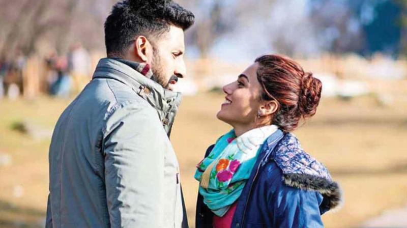 The director of Manmarziyaan had to apologise after Abhishek was spotted smoking outside a Gurudwara in the movie and people took offence
