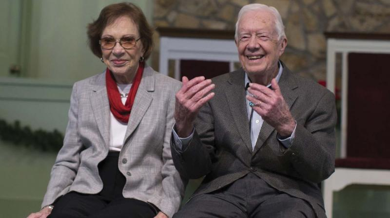 Former US President Jimmy Carter and his wife Rosalynn(Photos: AP)