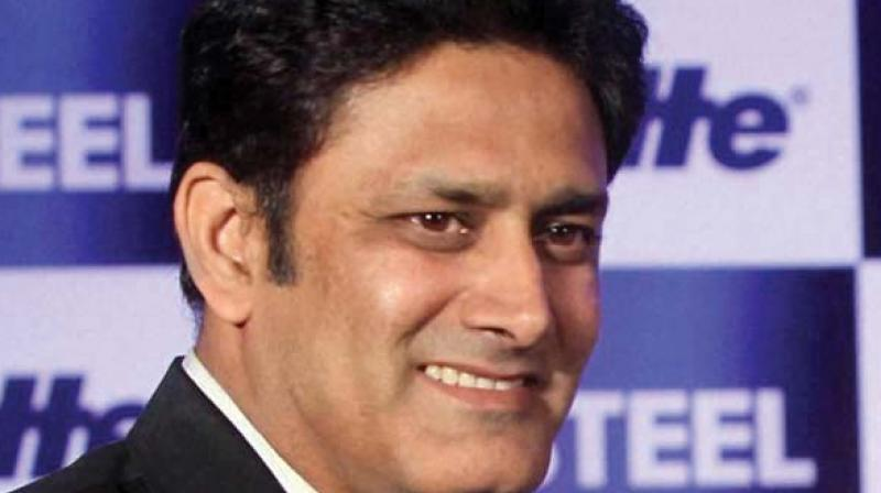 Kumble is the chairman of the International Cricket Council (ICC) Cricket Committee and will be accompanied by fellow former India captain Dilip Vengsarkar. (Photo: File)