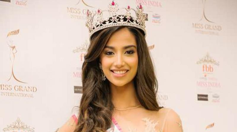 """There is no room for self doubt,"" explains Meenakshi Chaudhury. (Photo: Miss Grand International)"
