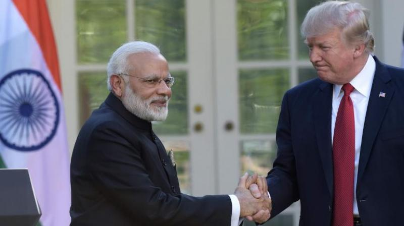 The White House said that the two leaders also pledged to continue working together to enhance security and prosperity in the Indo-Pacific region. (Photo: AP)