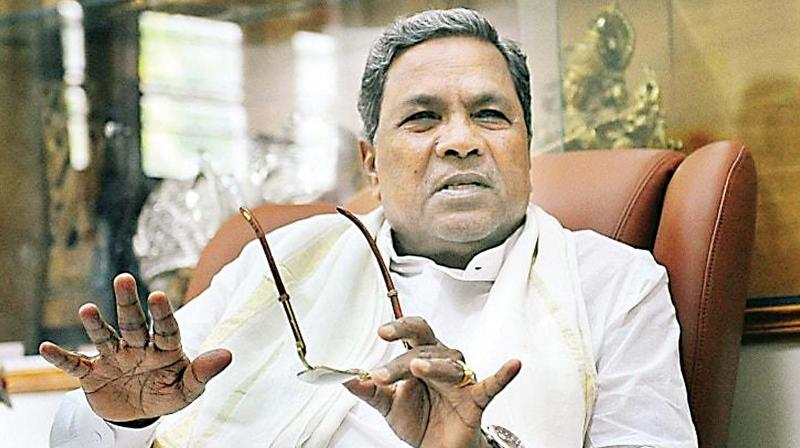 Coalition Coordination Committee chairman and former CM Siddaramaiah in a file photo