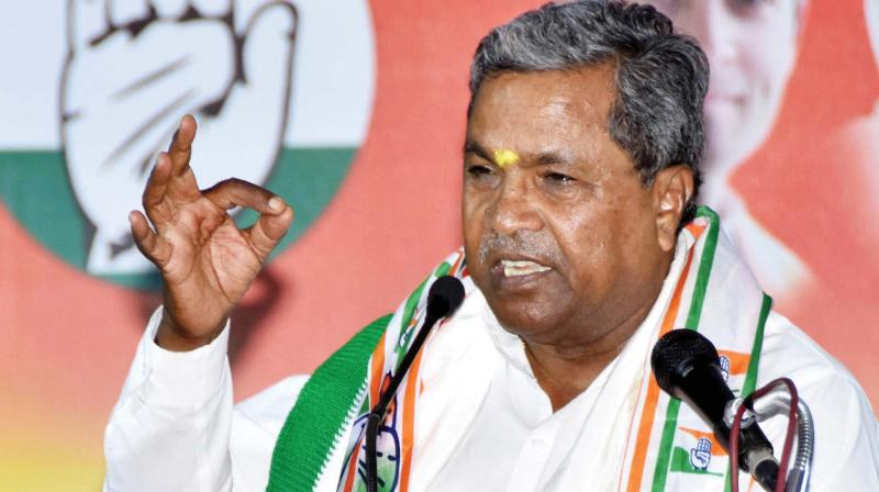 Karnataka Assembly elections: Siddaramaiah said he chose Chamundeshwari for 2018 as it was here he started his political career and wanted to contest his last election from the same constituency. (Photo: KPN)