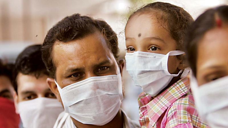 To tackle the surge, people have to take personal precautions and take rest for a minimum of five days, Dr Prakash B.G., Deputy Director, Communicable and Non-Communicable Disease Department, said.