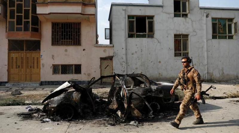 The attack, which continued for six hours, left 50 others injured. At least 16 people were civilians among killed. (Photo: ANI)