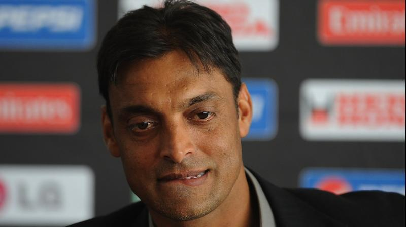 Soaib Akhtar did not seem happy with the question. As a result, he requested the anchor to ask questions related to cricket. (Photo: AFP)