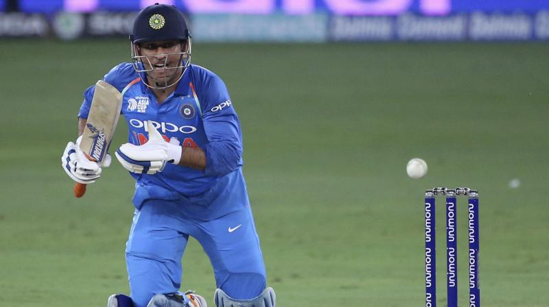 Dhoni and Dinesh Karthik were given leg before by the on-field umpires -- Gregory Brathwaite of West Indies and Anisur Rahaman of Bangladesh -- even though TV replays clearly indicated that the ball was missing the stumps in both the cases. (Photo: AP)