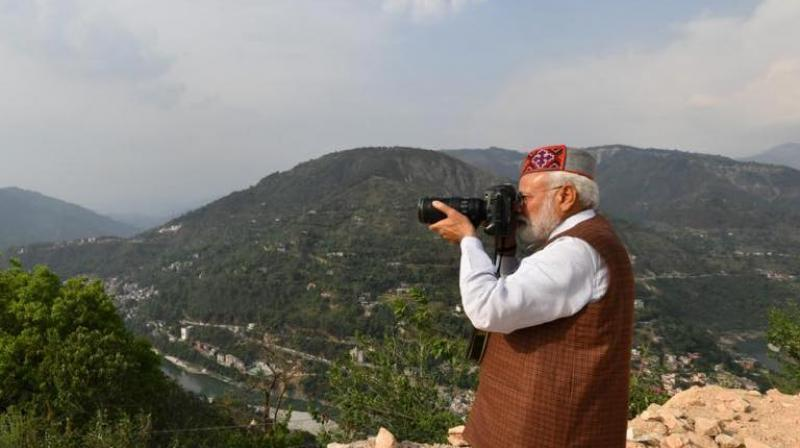 "Prime Minister Narendra Modi has been in the news for suggesting that radars are affected by clouds and how he was possibly ""the first person to use a digital camera in India in 1987 or 1988"" during a television interview, that understandably has gone viral on social media channels. (Photo: Facebook)"