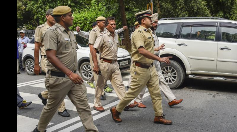 Police have filed a case and are investigating.   (Photo: PTI)