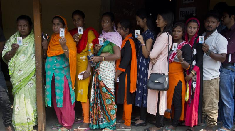 All parliamentary constituencies in Gujarat, Kerala, Dadra and Nagar Haveli, Goa and Daman and Diu will vote on April 23 in a single phase. (Photo: AP)