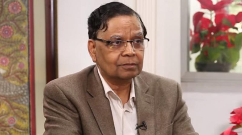 Niti Aayog Vice-Chairman Arvind Panagariya