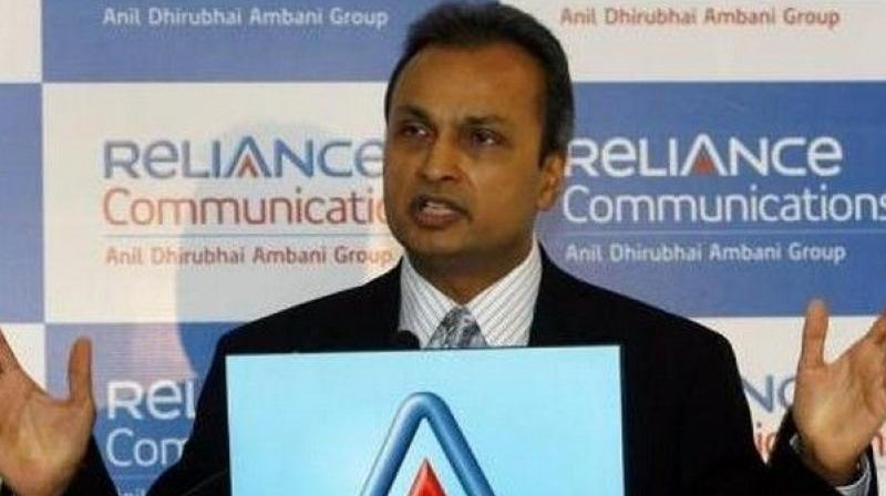 Reliance Communications Chairman Anil Ambani.
