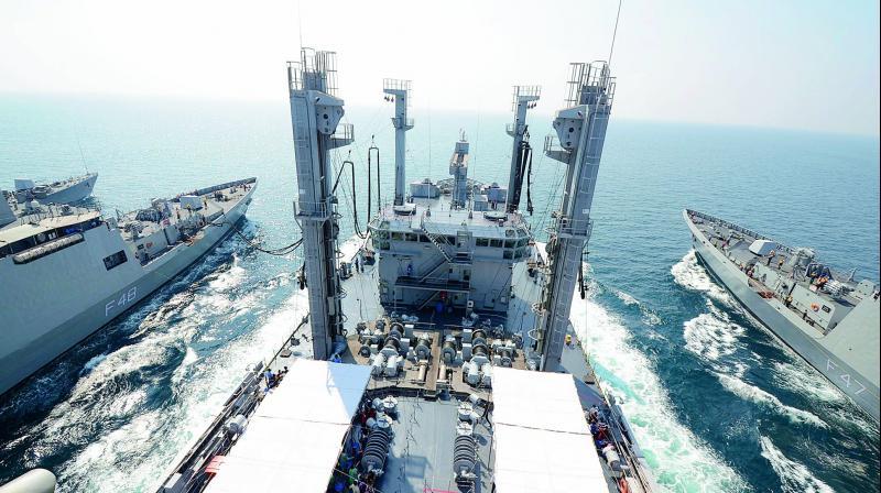 The five-day-long exercise would also contribute significantly to enhancing the overall maritime security in the region. (Photo: Representational image)