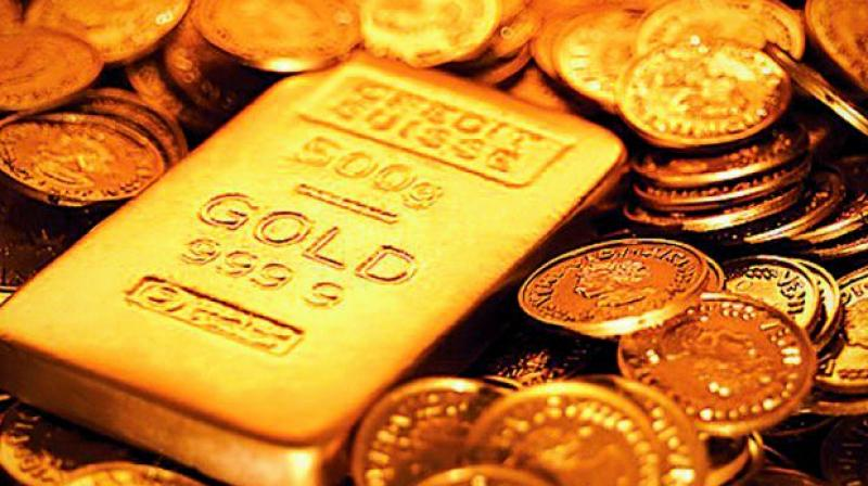 Meanwhile, gold traded 0.19 per cent lower at USD 1,287.80 an ounce in Singapore.