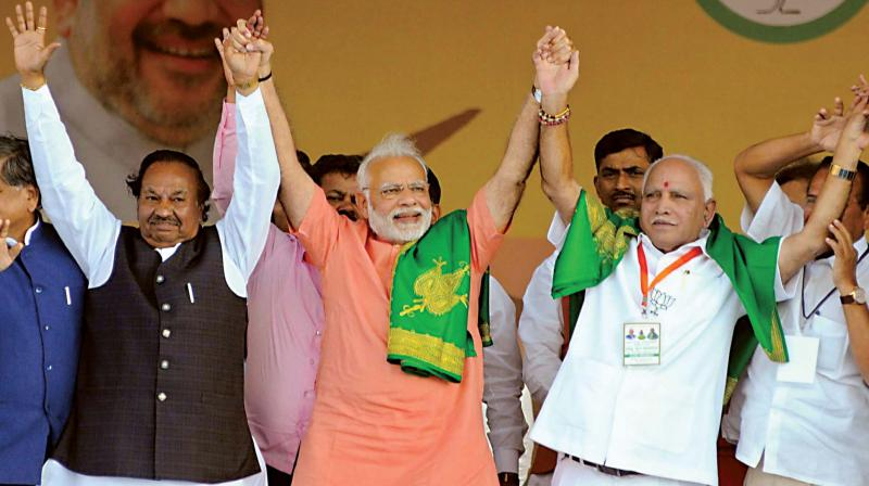 The BJP seems to have suffered a loss of 2 percentage points. Not only the Congress, the Janata Dal Secular (JD-S), the third key political player in the State, has also gained at the cost of the BJP, particularly in its stronghold areas in the southern part of the State.