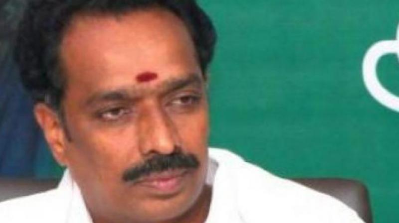 Tamil Nadu Transport Minister M R Vijayabhaskar