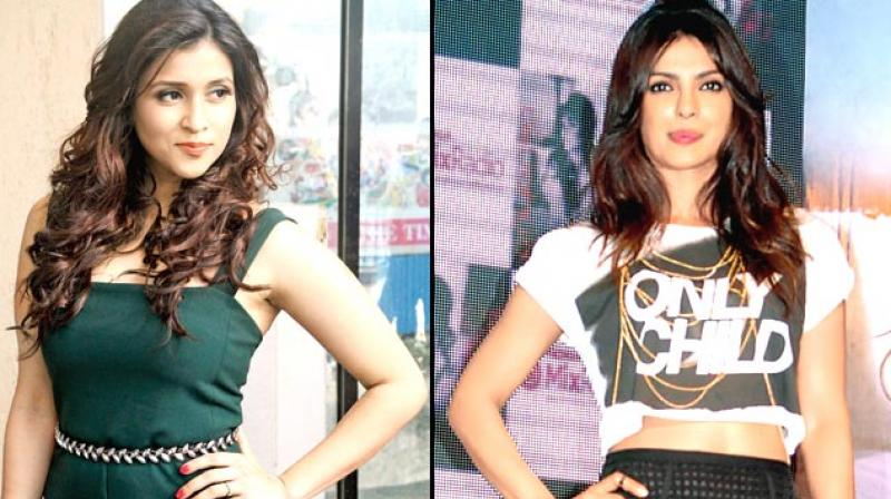 Exclusive Priyanka Chopra Takes Little Sister Mannara Chopra