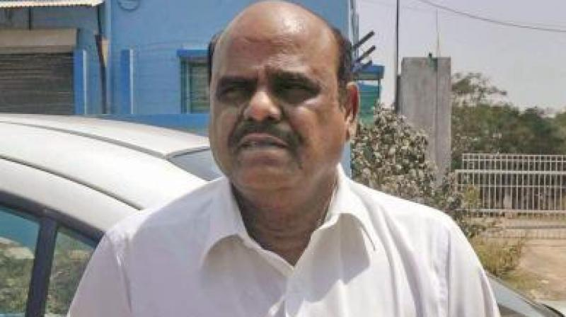 Sc Orders Medical Check Up Of Justice Karnan Bars Courts