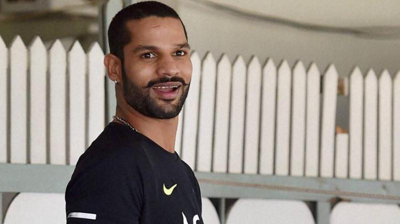Shikhar Dhawan, who was India's standout player in the ICC Champions Trophy in England, is recalled to the Indian Test squad. (Photo: PTI)