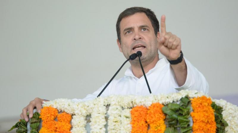 Congress president Rahul Gandhi said that sacking of CBI chief Alok Verma twice showed that Prime Minister Narendra Modi was a 'prisoner of his own lies'. (Photo: File | Congress Twitter)