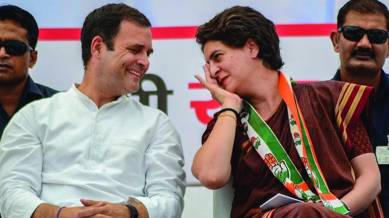 Praising Priyanka for her visit to Sonbhadra to meet victims of a firing incident, the former external affairs minister told ANI that she is capable of handling the party.  (Photo: File)