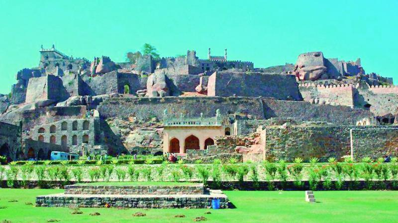 The Golconda Fort and the Qutub Shahi Tombs should certainly qualify, but the ground work and support from government departments in terms of documentation, providing exact land records and details is lacking.