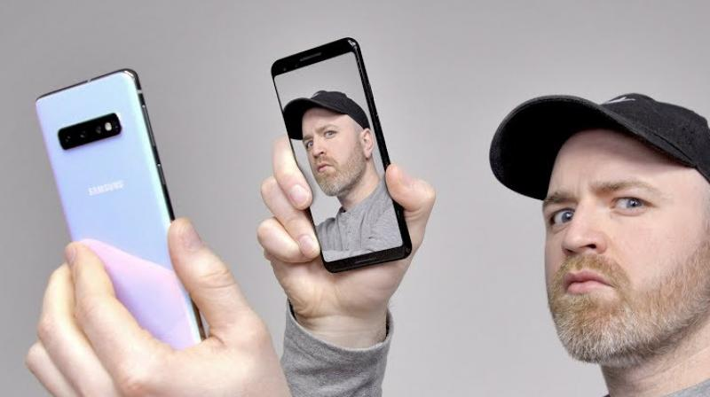 In a shocking revelation, a security researcher said she could unlock her brothers phone with her face.  (Photo: Unbox Therapy)