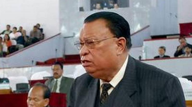 'This restriction made me frustrated and compelled me to be no longer comfortable to be in the party,' Meghalaya CM D D Lapang said in his resignation letter. (Photo: File | PTI)