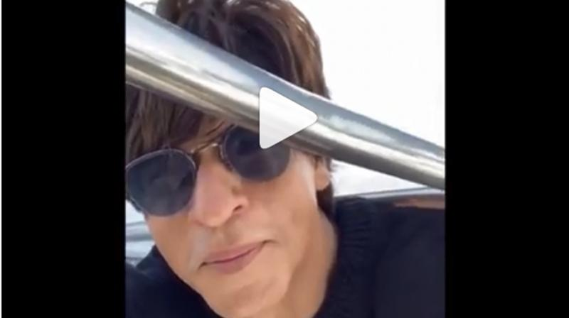 Shah Rukh Khan chills with family on yacht in Maldives. (Photo: Instagram)