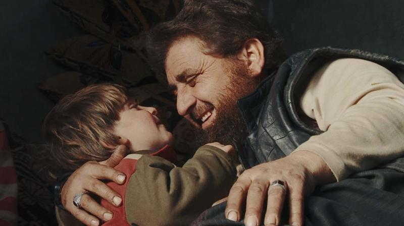 A still from Of Fathers And Sons